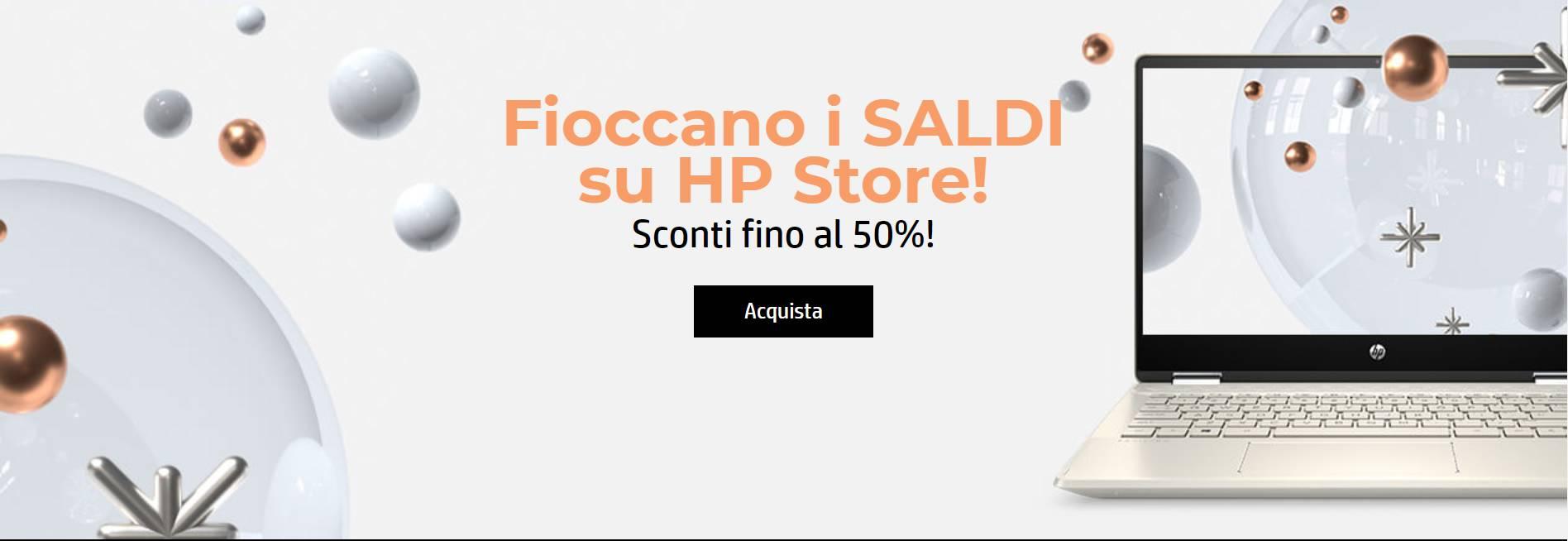 Le offerte della settimana da HP Store, ottimi sconti su molti notebook