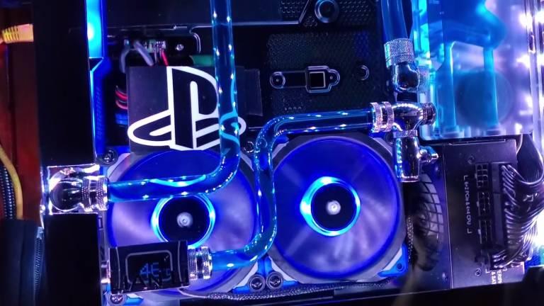PS4 Pro raffreddata a liquido: la nuova carissima creazione di un utente