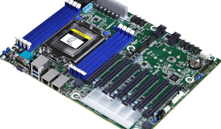 ASRock Rack ROMED8-2T, la scheda madre per server con sette PCI Express x16