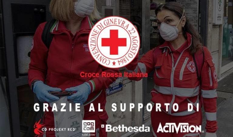 Il mondo dei videogiochi apre una campagna a favore della Croce Rossa Italiana: è il tempo della gentilezza